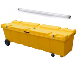 Fluorescent-tube-disposal